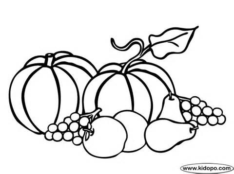 480x358 62 Best Autumn Draw Images Colouring Pages, Autumn