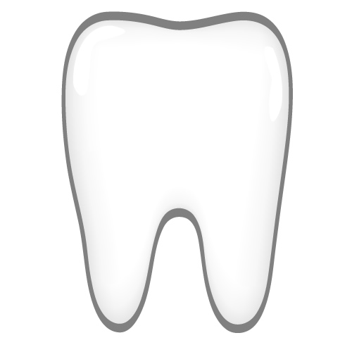 Tooth Clipart Black And White   Free download best Tooth ...