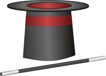 425x306 Magic Top Hat Jh Clip Art Vector, Free Vectors