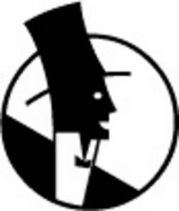 254x300 Man In Top Hat Clipart Line Art