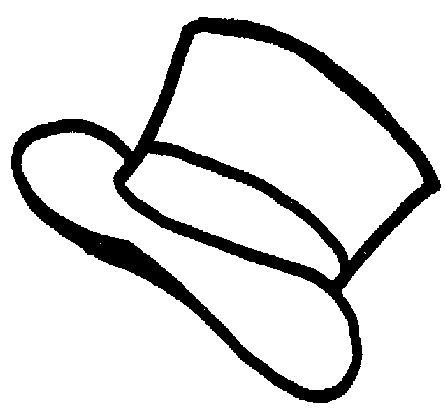Top Hat Outline