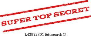 300x122 Super Top Secret Clipart And Illustration. 14 Super Top Secret