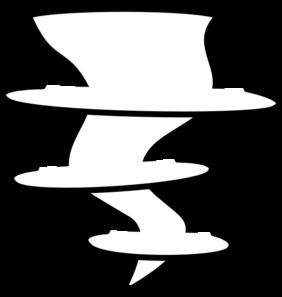 282x297 New Tornado Clip Art