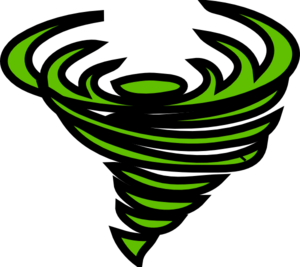 300x267 Tornado Clip Art 6