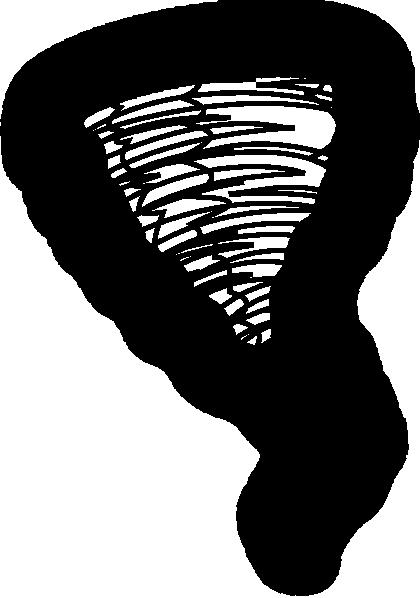 420x598 Tornado Black Clip Art