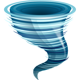 256x256 Tornado Icon, Png Clipart Clipart Panda
