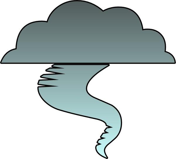 600x542 Tornado clip art free download clipart images 4
