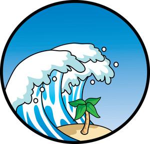 300x287 Tsunami Clipart Image