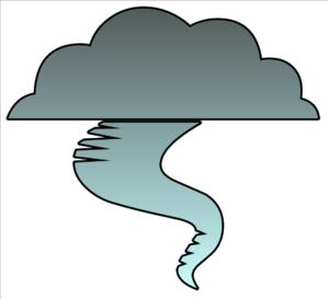 299x273 Tornado Cutout Clip Art