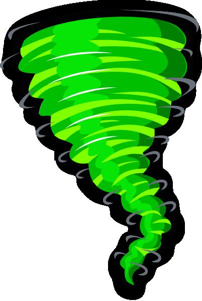 402x600 Green Tornado Clip Art