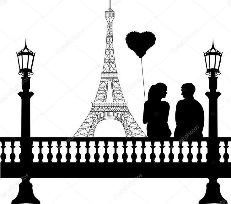 Torre Eiffel Vector Clipart