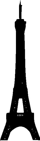 168x593 Eiffel Tower Clip Art