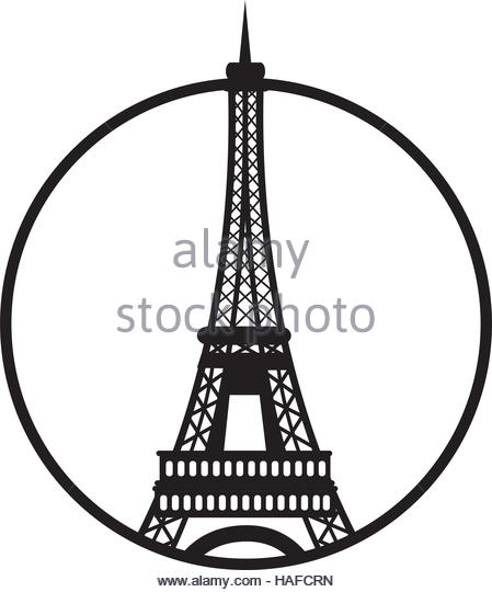 449x540 Eiffel Tower Stock Vector Images