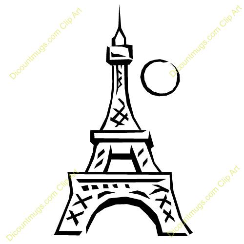 500x500 Eiffel Tower Clipart Animated