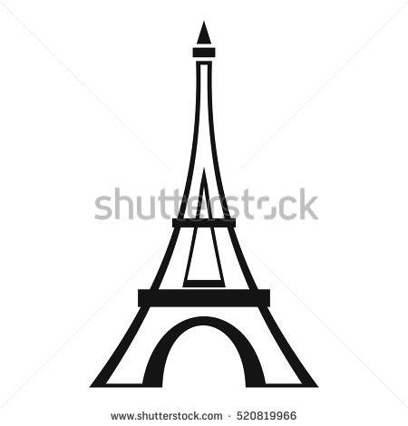 450x470 Eiffel Tower Clipart Vector