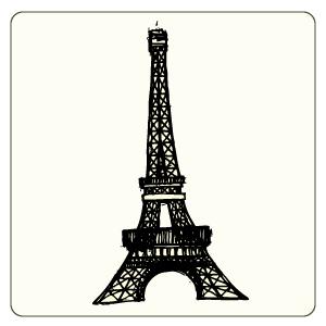 300x300 Eiffel Tower Doodle Dromgfa Top Clip Art