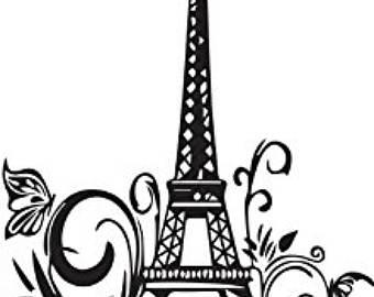 340x270 Eiffel Tower Svg Etsy