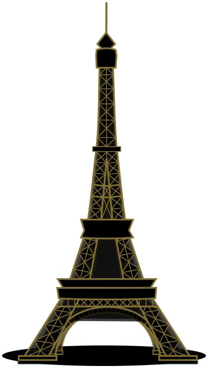 418x738 Eiffel Tower Clip Art Download
