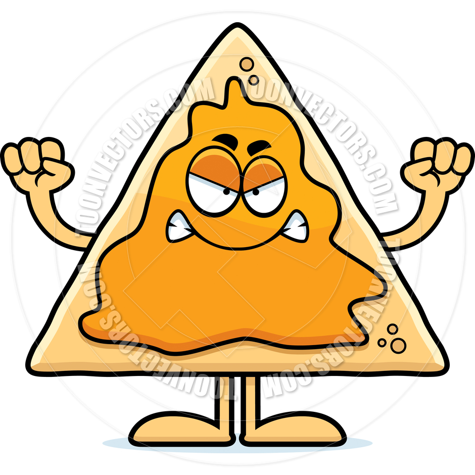 940x940 Cartoon Nachos Angry By Cory Thoman Toon Vectors Eps