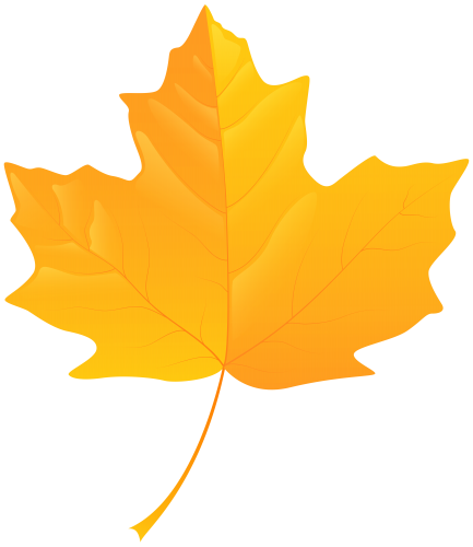 433x500 Yellow Leaf Png Clip Art Fall Clip Art And Leaves