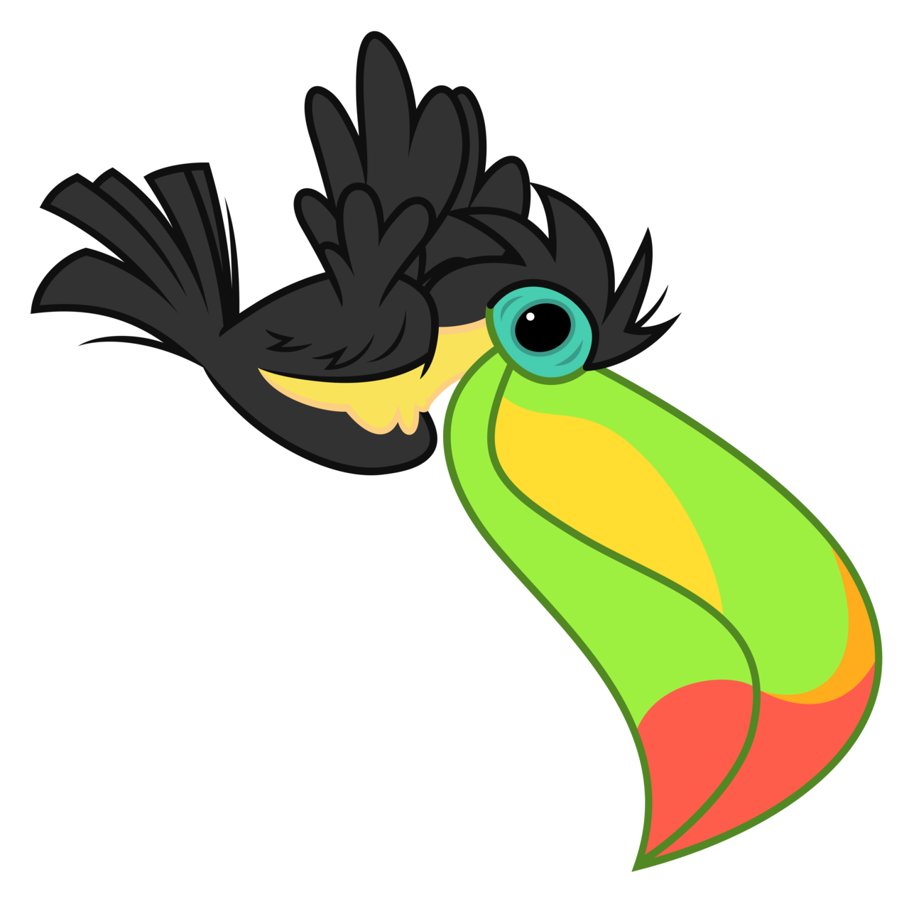 1280x1280 Le Toucan Will Arrive Shortly By Reginault