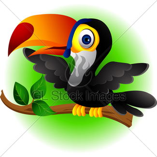 325x325 Toucan Bird Cartoon Gl Stock Images