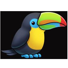 220x220 Toucan Fluff Favourites Clip Art, Animal And Bird