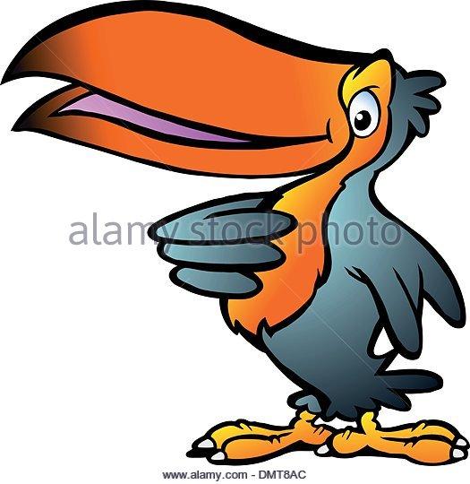 525x540 Cartoon Illustration Funny Toucan Stock Photos Amp Cartoon