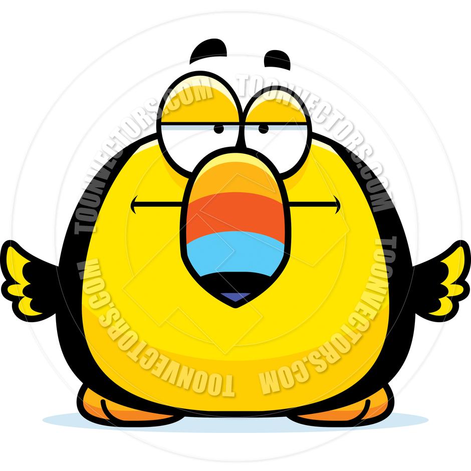 940x940 Cartoon Little Toucan Bored By Cory Thoman Toon Vectors Eps