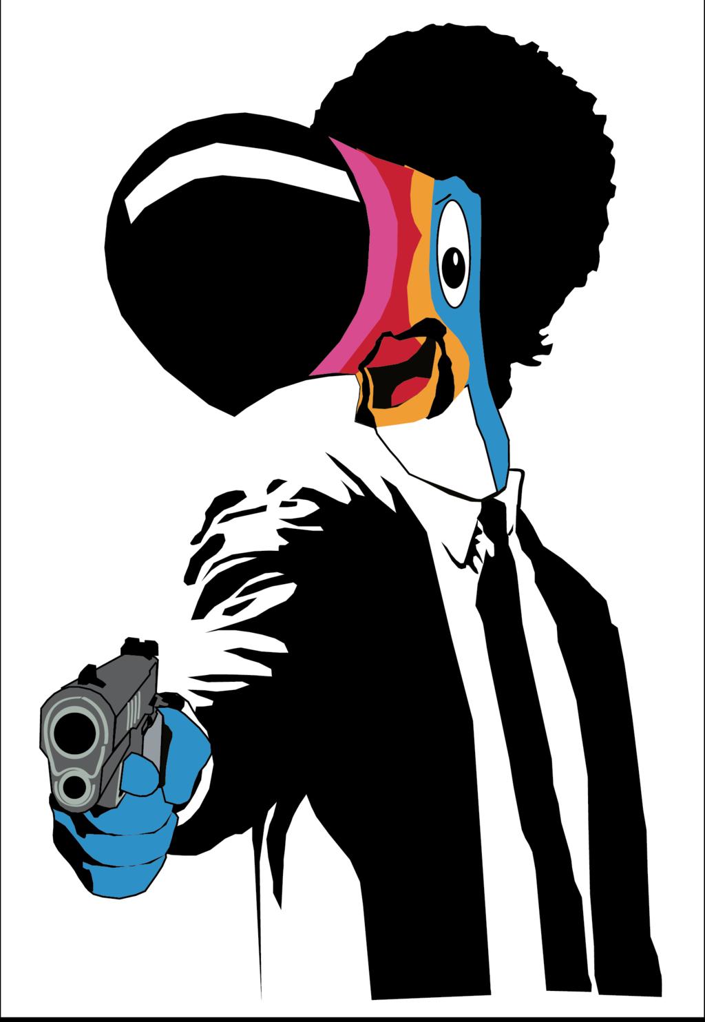 1024x1484 Toucan Sam Jackson by gongsart on DeviantArt