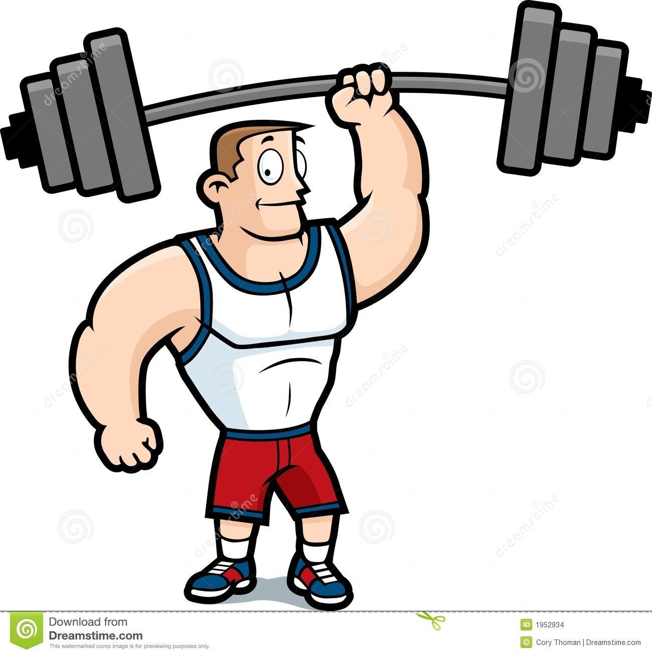 1300x1308 Free Strong Musclemen Clipart