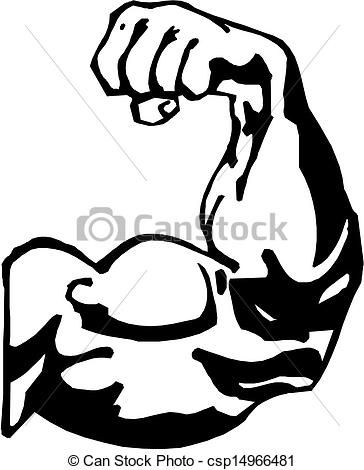 364x470 Strong Arm Clipart