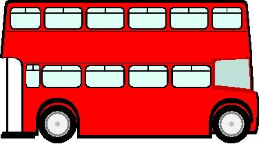 Tourbus Clipart