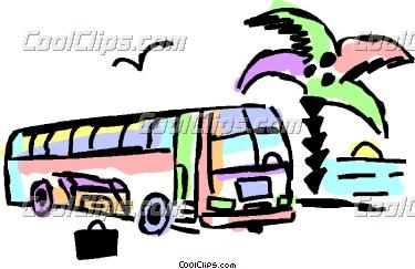 375x243 Bus Clipart Tourist Bus