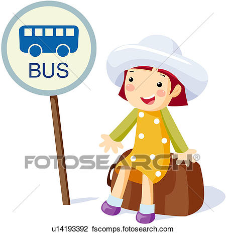 450x466 Clipart Of , Cartoons, Tourist, Travel, Vacation, U23804565