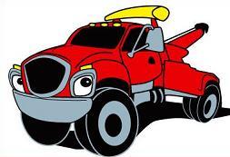 253x173 Tow Truck Tow Chain Clipart Clipartfest