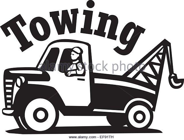 640x486 Cartoon Tow Truck Stock Photos Amp Cartoon Tow Truck Stock Images
