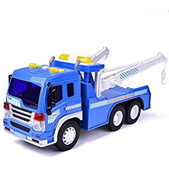 350x350 Friction Powered Wrecker Tow Truck 116 Toy Towing