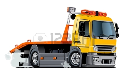 450x273 Tow Truck Cartoon Images Amp Stock Pictures. Royalty Free Tow Truck
