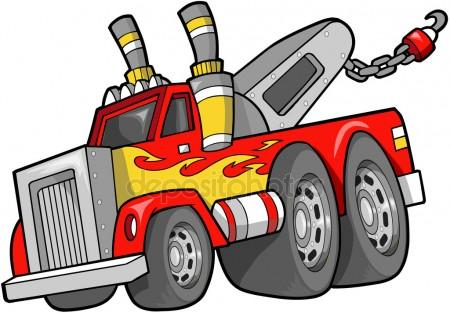 450x313 Tow Truck Stock Vectors, Royalty Free Tow Truck Illustrations