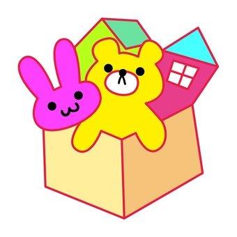 340x340 Free Silhouettes Toy, Toy Box, Children