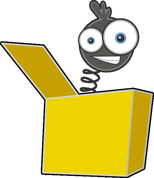 516x595 Full Toy Box Clipart