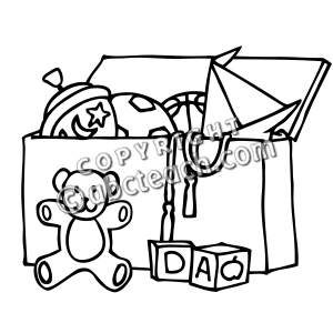 300x300 Toy Clipart Toy Chest