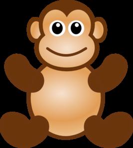 267x297 Monkey Toy Clip Art