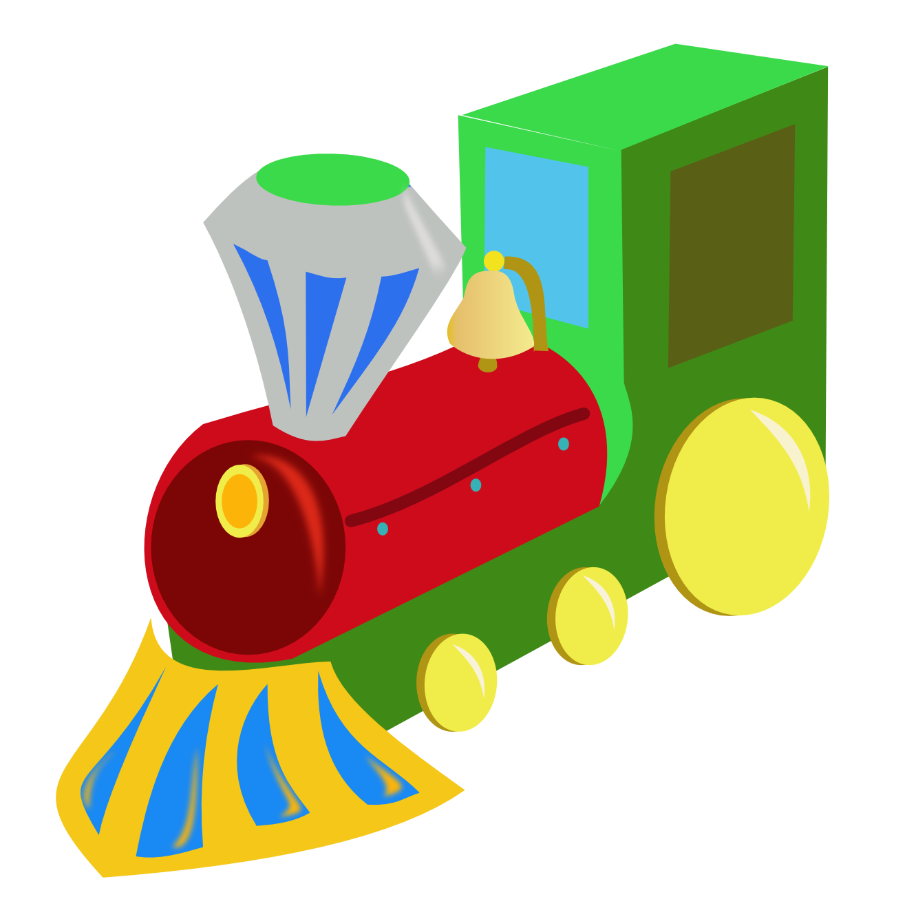 1331x1319 Toy Train Clipart