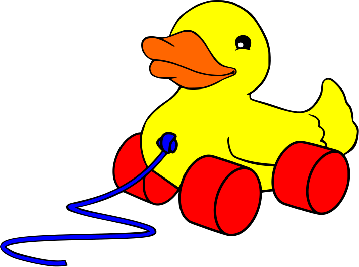 712x531 Yellow Duck Baby Toy Clipart