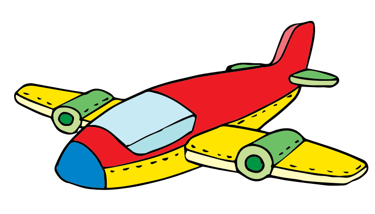 770x440 Jet Toy Clipart