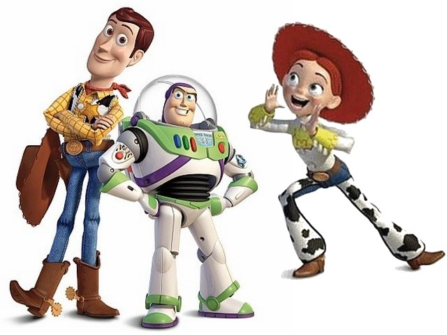 640x480 Toy Story 3 The Great Trio