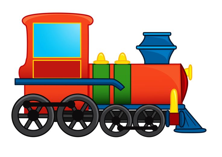 Toy Train Clipart
