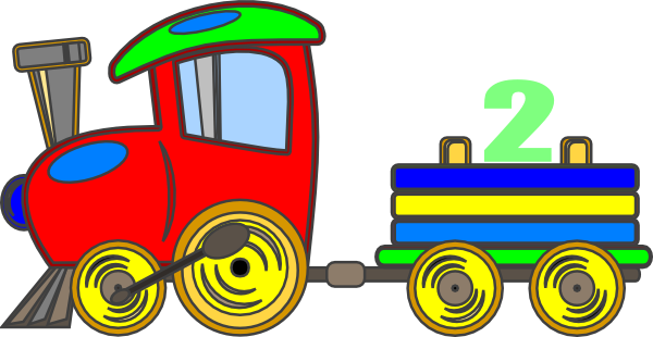 600x310 Loco Train Clip Art